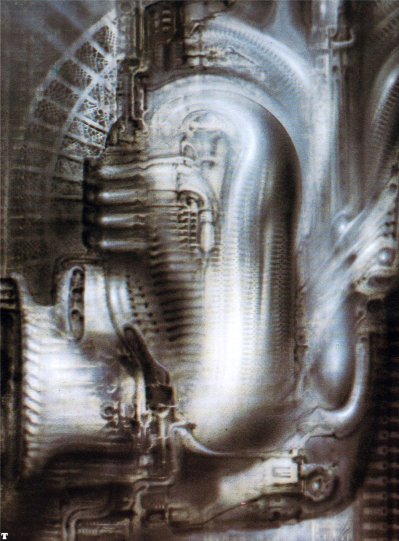 Biomechanical Landscape 017 - Science Fiction H R Giger