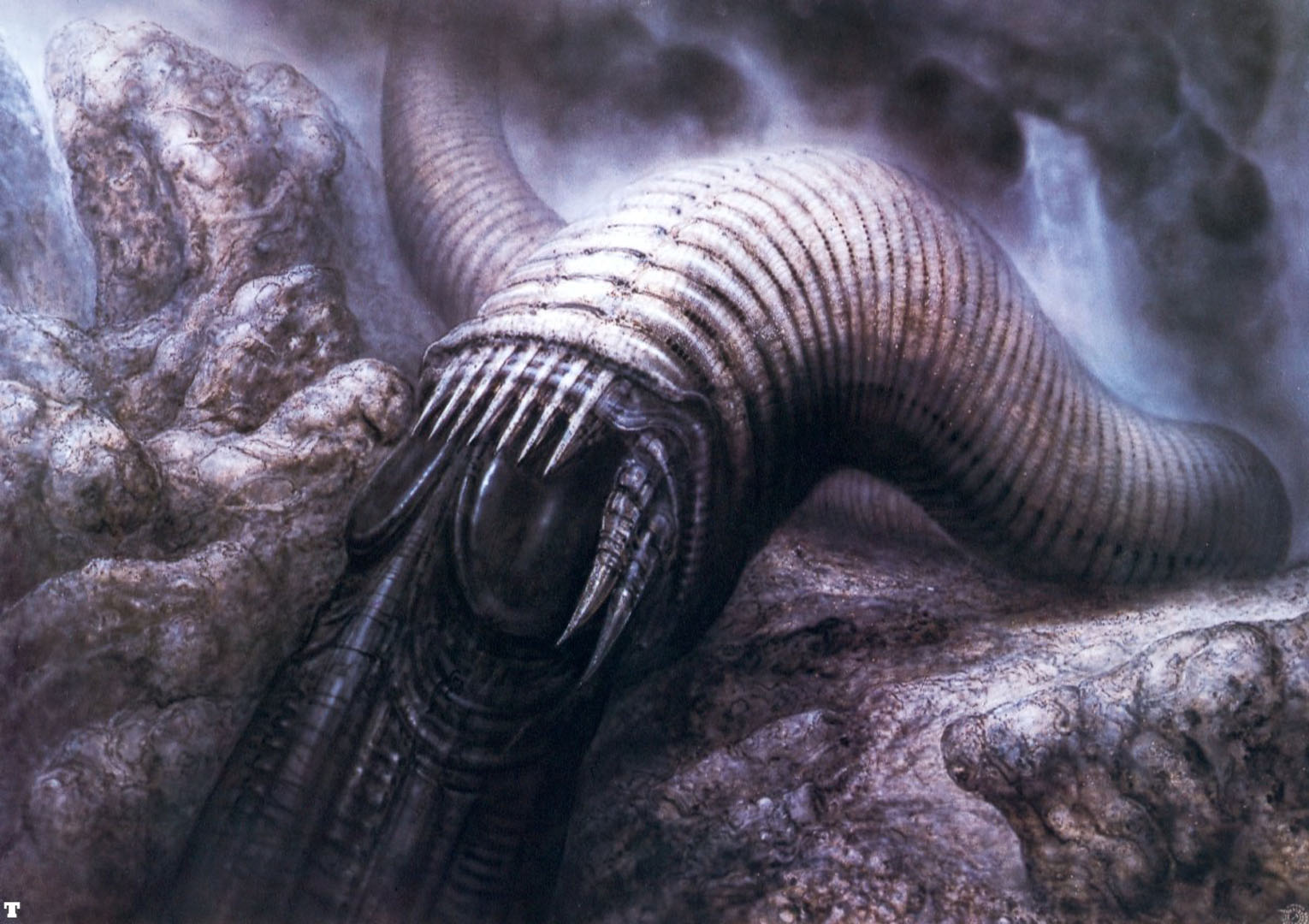 dune worm xii science fiction h r giger