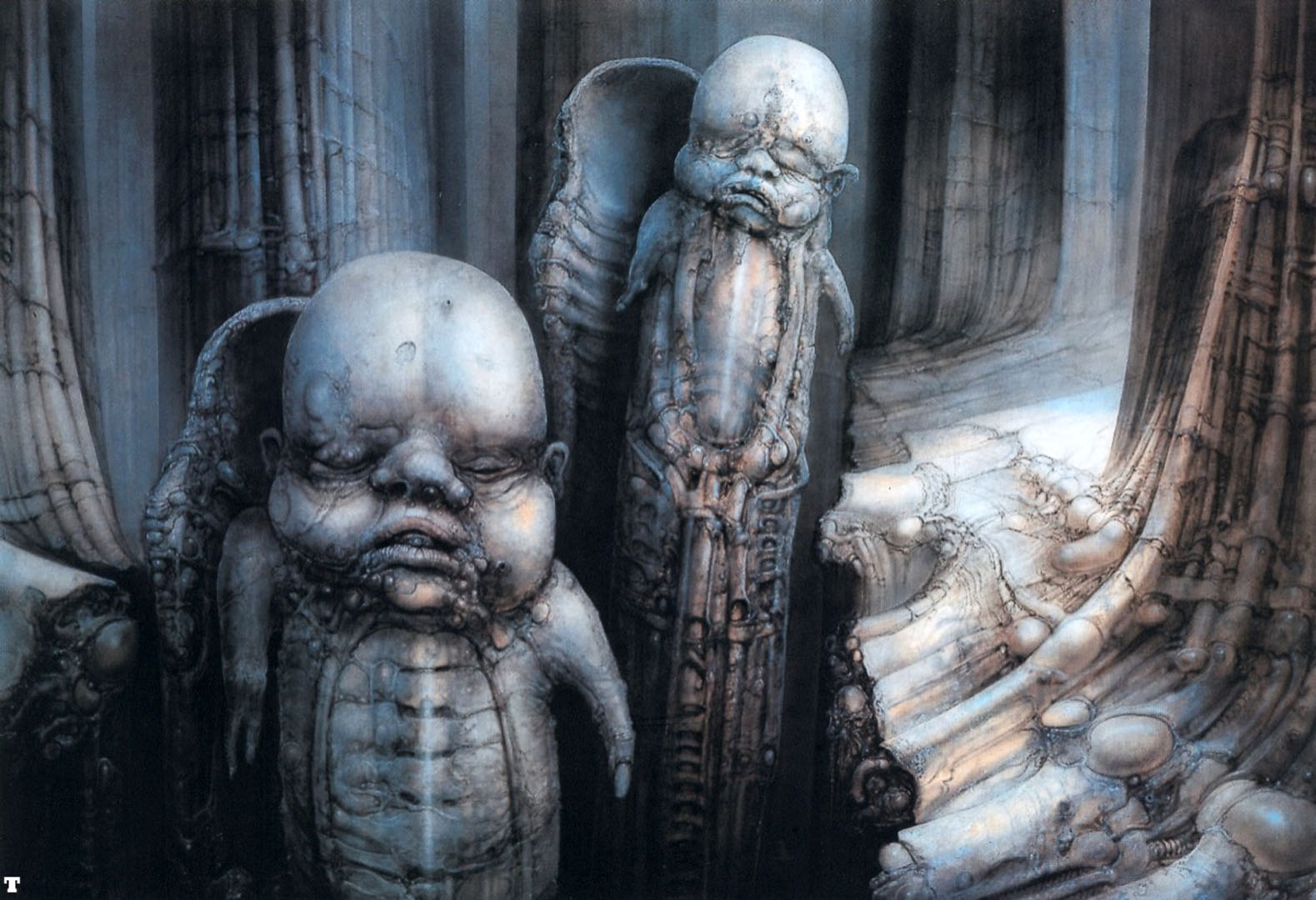 Hans Ruedi Giger: Biomechanical fantasy as spectacle ...