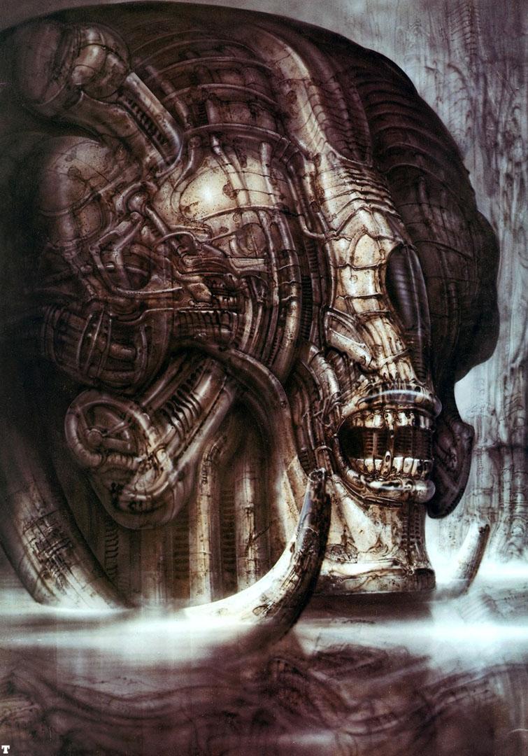 Hans Ruedi Giger: Biomechanical fantasy as spectacle ... H.r. Giger Wallpaper