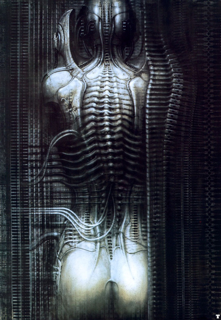 newyorkcity vi torso science fiction h r giger