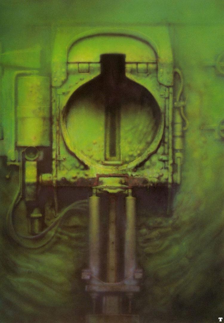 Passage Xxiv Science Fiction H R Giger