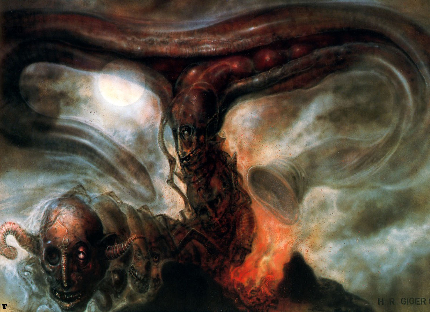 Pii The Smoke Beast P20  Science Fiction H R Giger