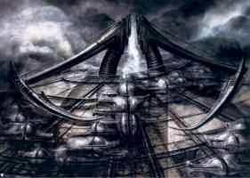 biomechanical landscape scythe