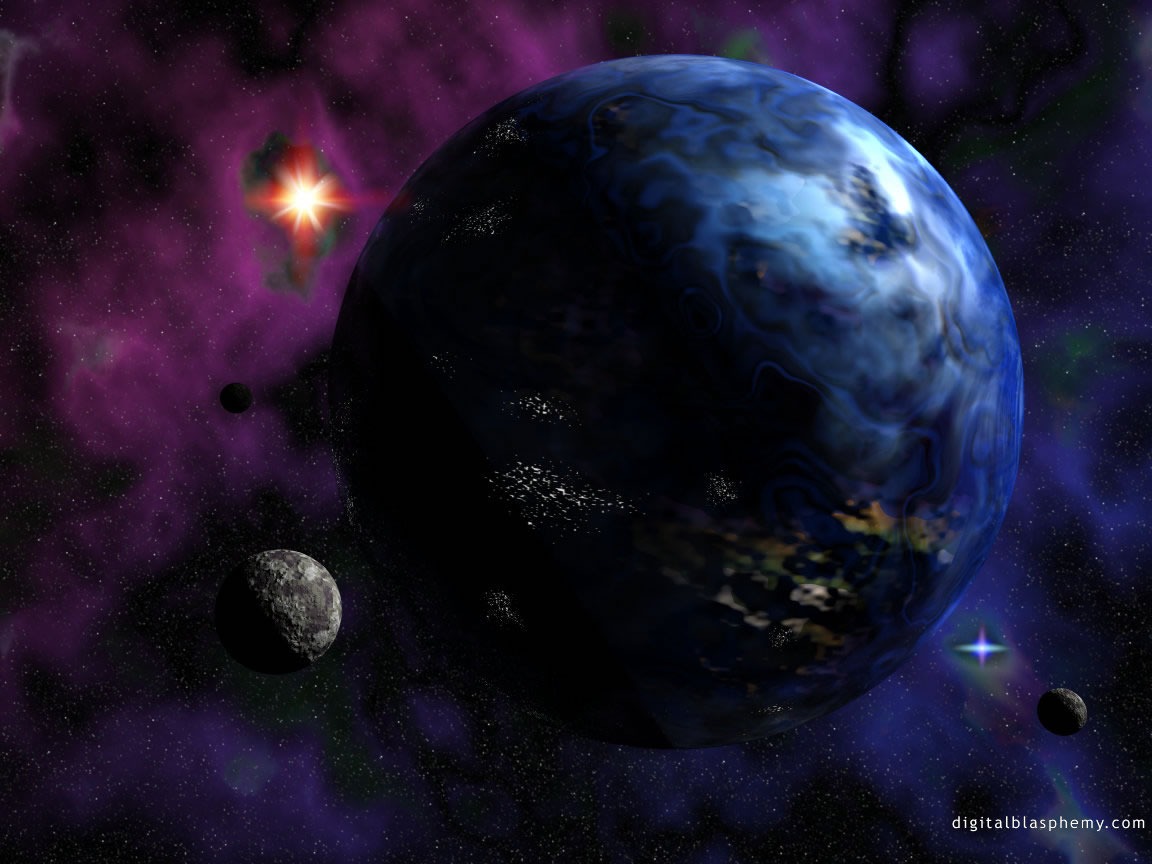 9 - Science Fiction Planets