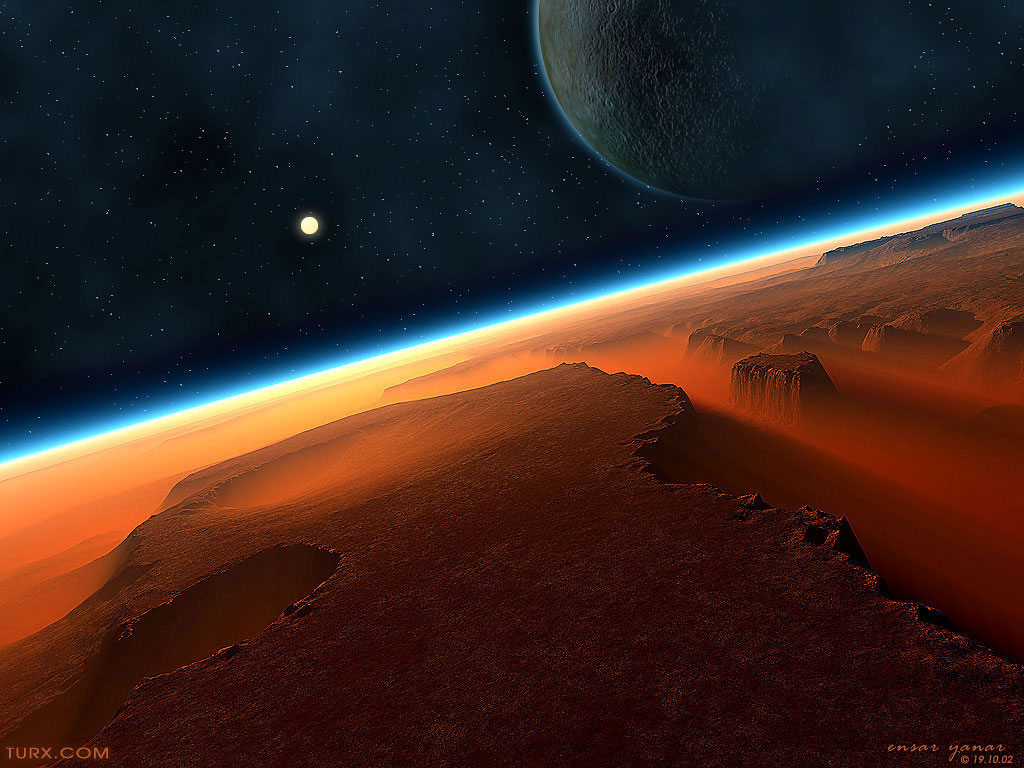 Sci-Fi Planets - Pics about space