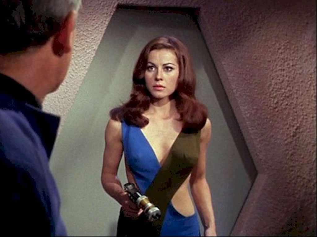 Star Trek Babes Sherry Jackson As Android Andrea In What Are Little Girls Made Of on oscar schmidt website