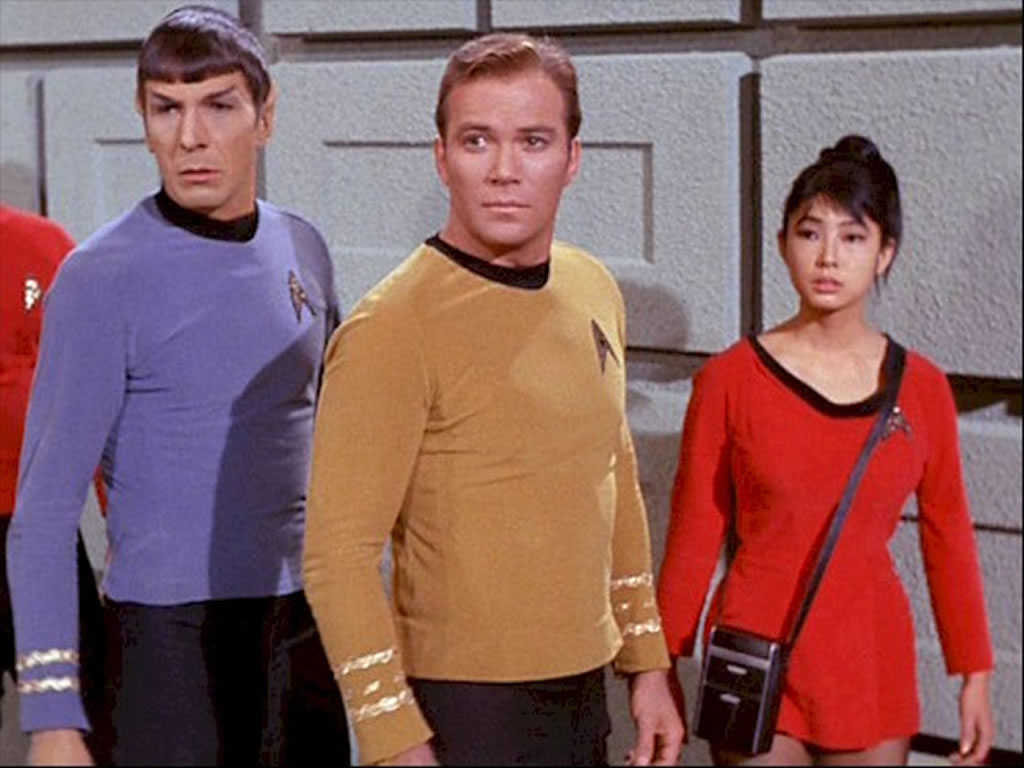 Star Trek Babes Yeoman Tamura In A Taste Of Armageddon