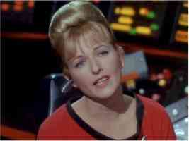 star trek babes elizabeth rogers is lt palmer in the way to eden