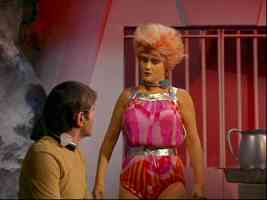 star trek babes jane ross as drill thrall tamoon in the gamesters of triskellion