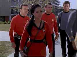 star trek babes someone is zahra jamal in operation annihilate