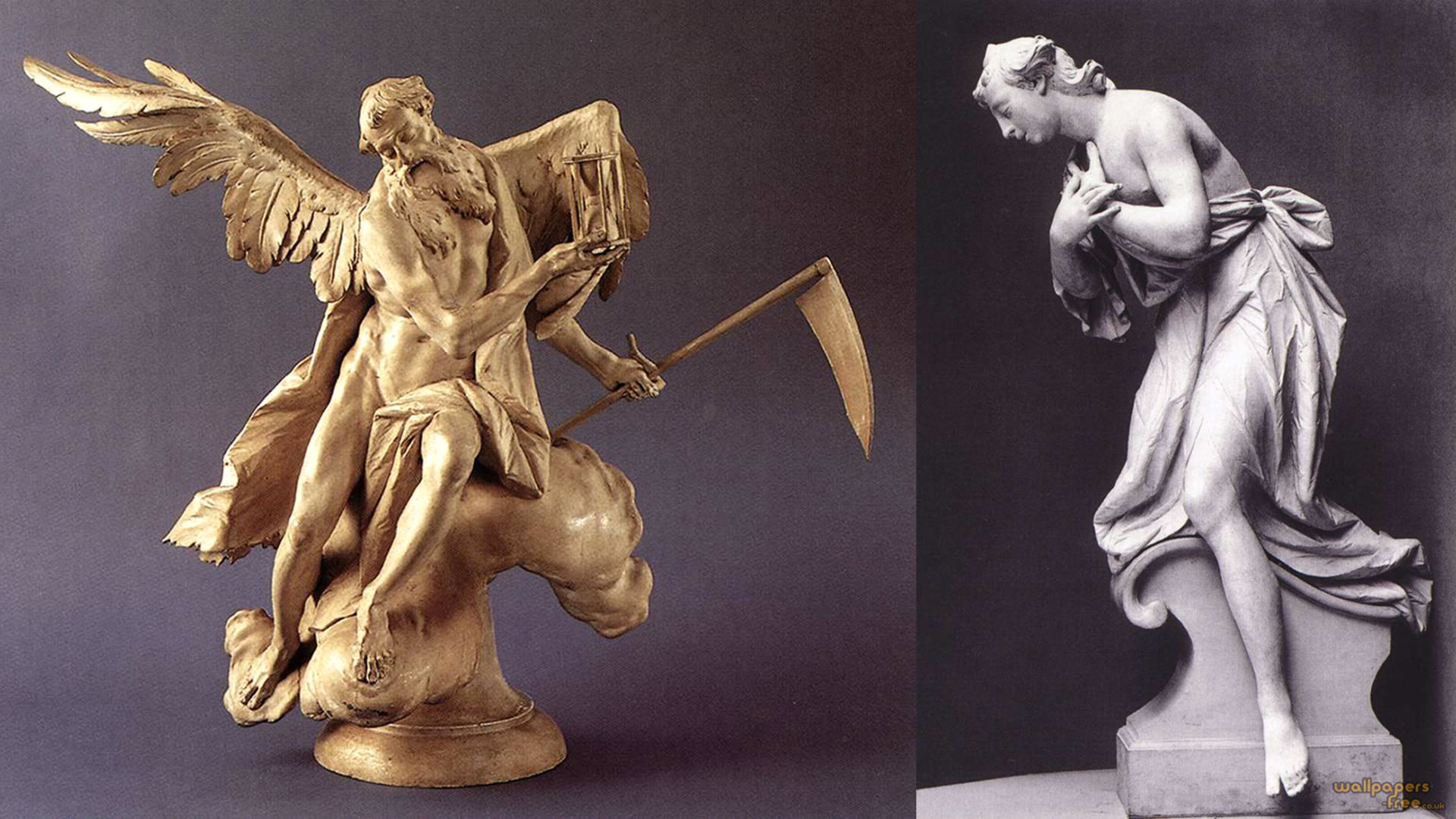 Chronos And The Adoring Angel