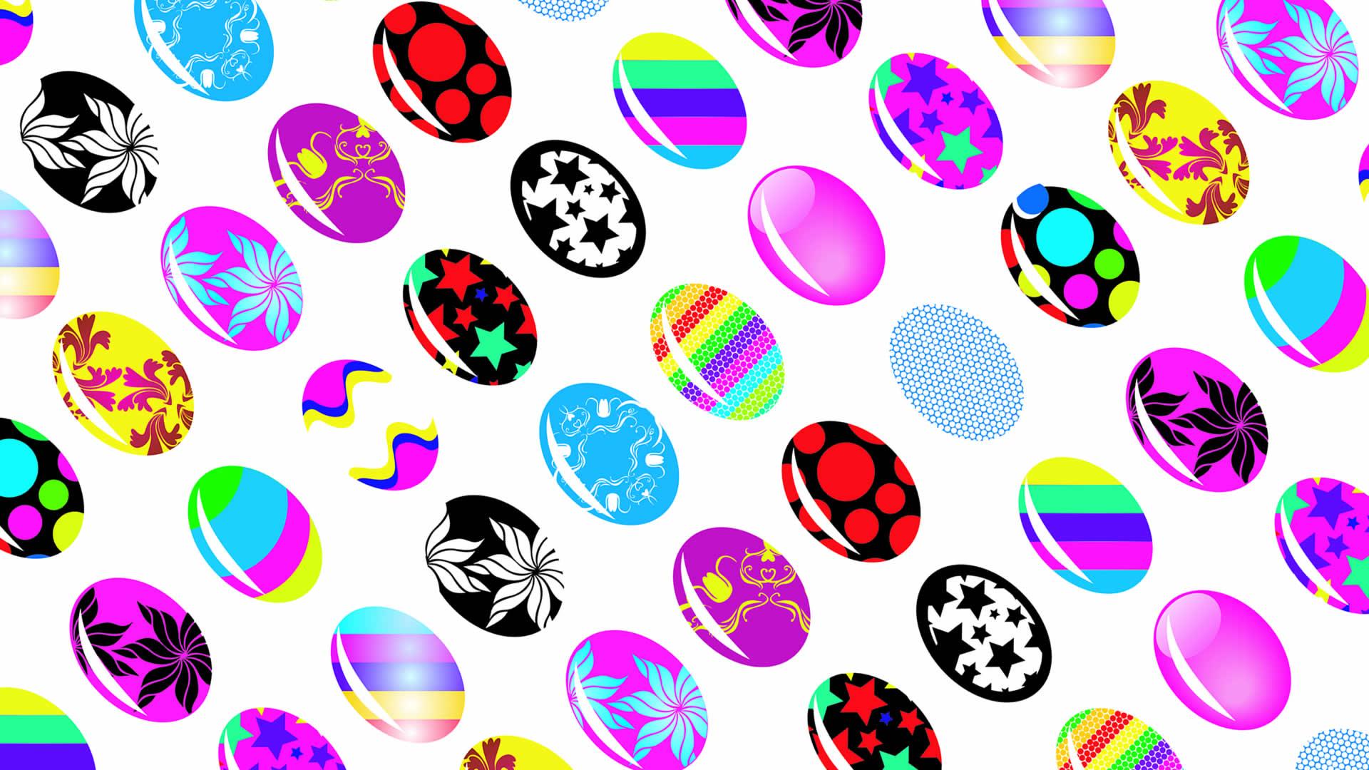 Eggcellent Egg Pattern - Easter Wallpaper