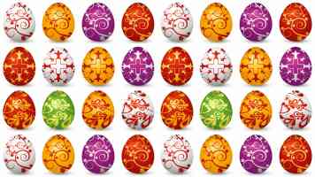 a great eggsample of an easter wallpaper