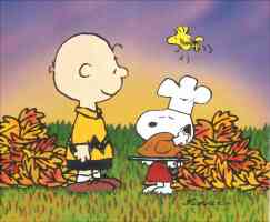 snoopy charlie brown thanksgiving