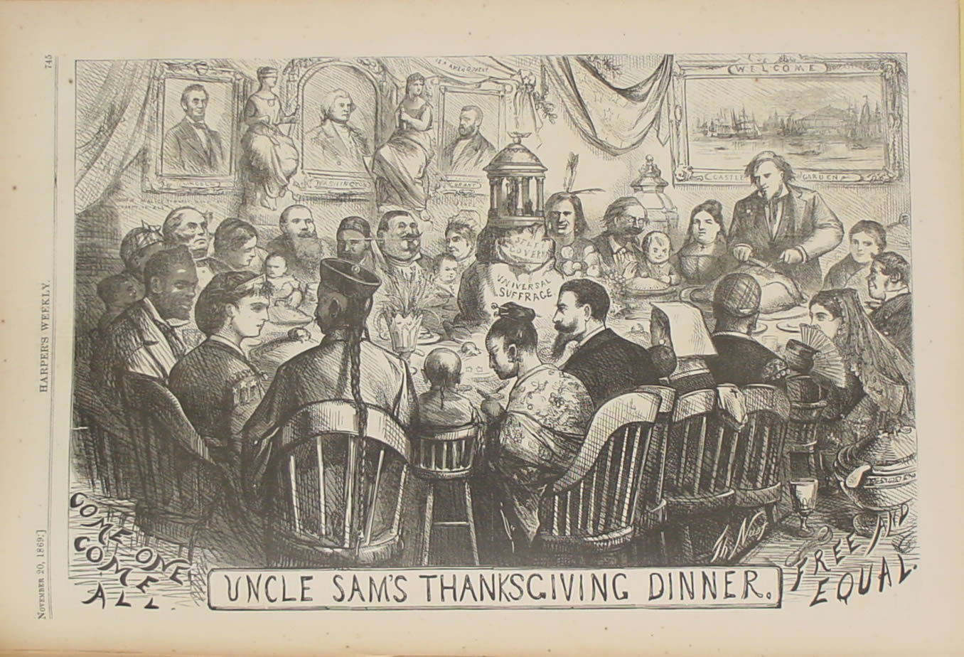 Uncle Sam Thanksgiving