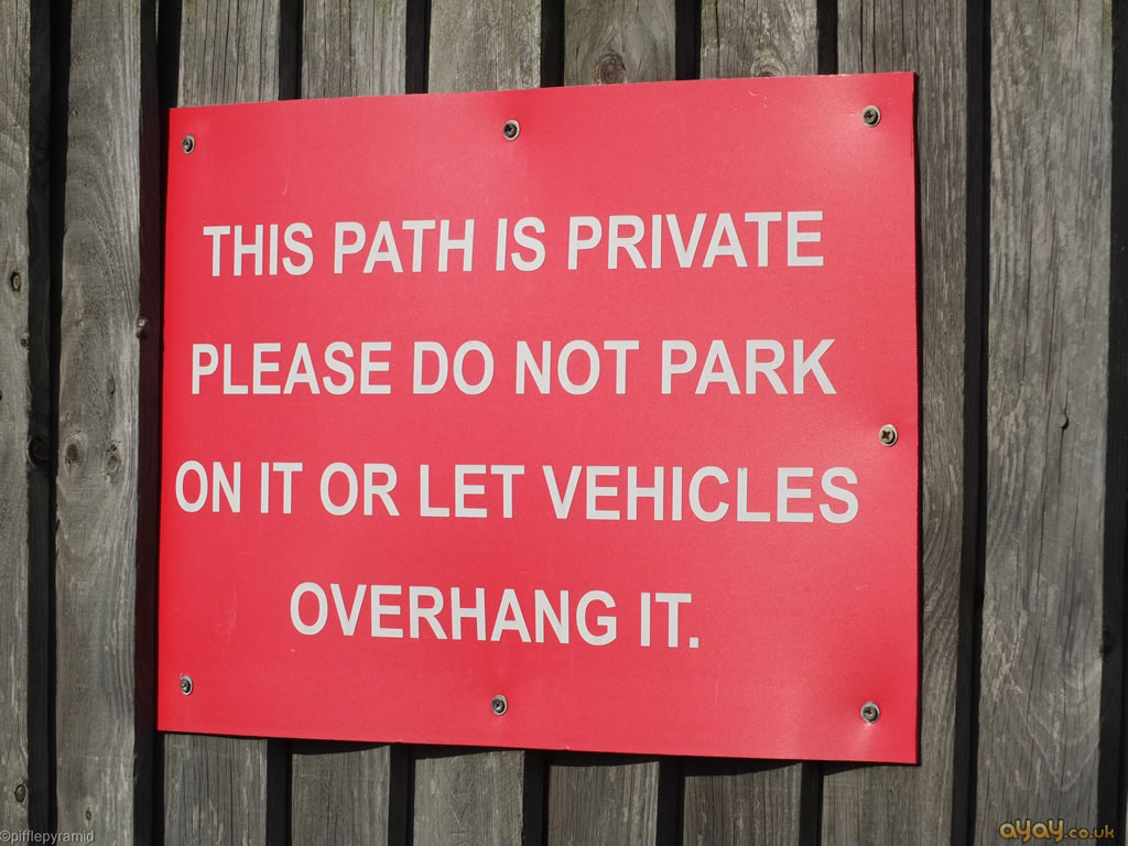 This Path Is Private