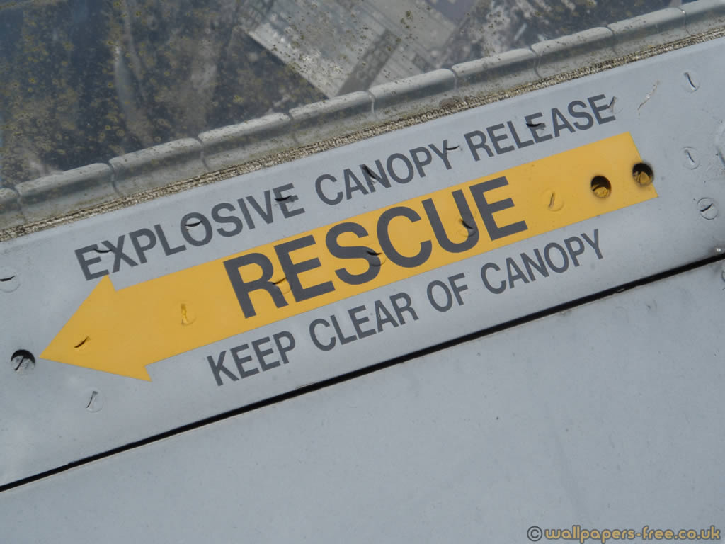 Explosive Canopy Release - Military Signs And Symbols