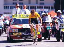 greg lemond fighting to keep yellow at the 1989 tour