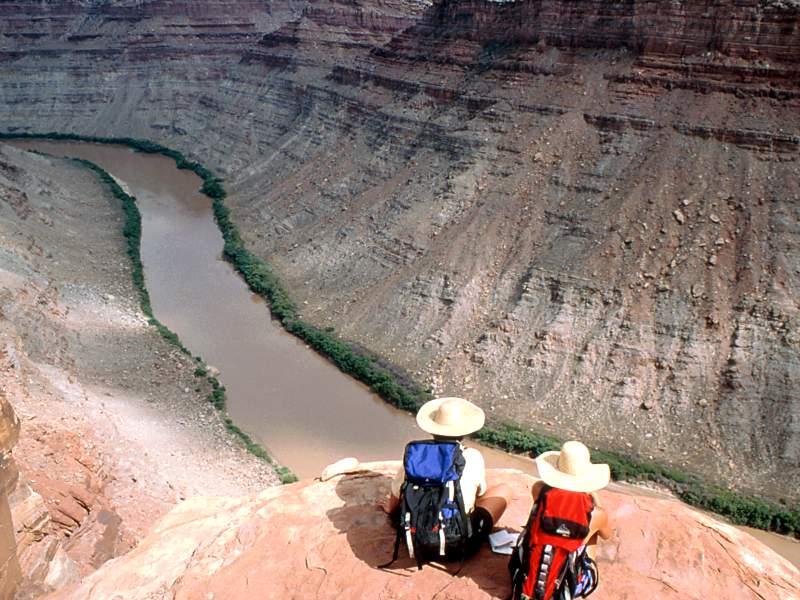 Rest Stop Colorado River Utah