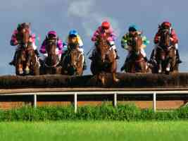 A Race to the Finish Steeplechase