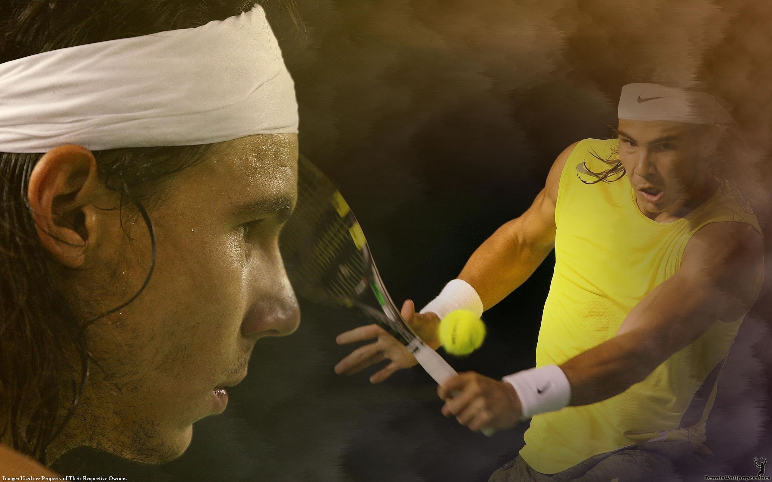 Rafa Nadal Widescreen Wallpaper