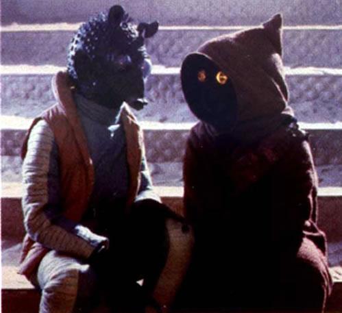 Beedo And Jawa Speaking Star Wars Characters