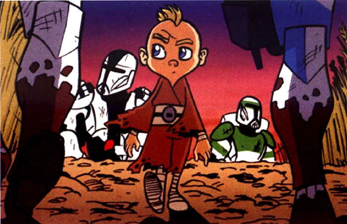 Evan The Little Boy Star Wars Characters