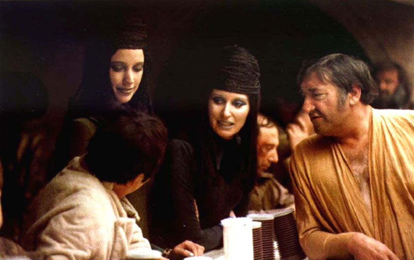 Shada dukal and karoly dulin at the mos eisley cantina for The menu moss eisley canape
