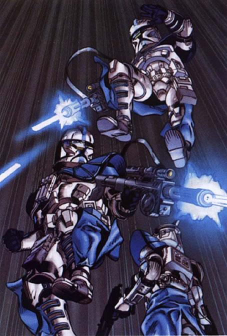 Arc Troopers Star Wars Clones