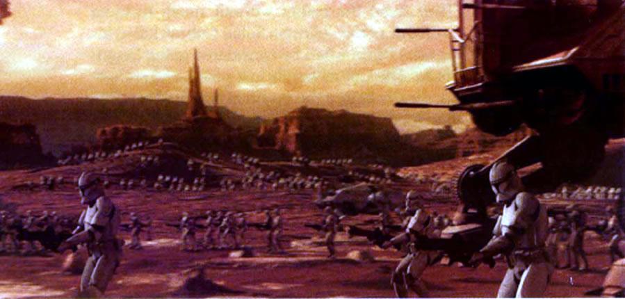 Star Wars Battle Backgrounds: Star Wars The Clone Wars Battles