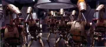 command office battle droid and platoon