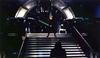 emperors throne room on the second death star