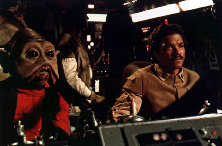 Calrissian At The Battle Of Endor
