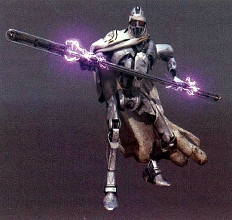 Electrostaff Wielded By Ig100 Magnaguard Star Wars Weapons