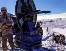 heavy artillery at the rebel base on hoth