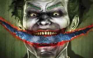 slash smile joker