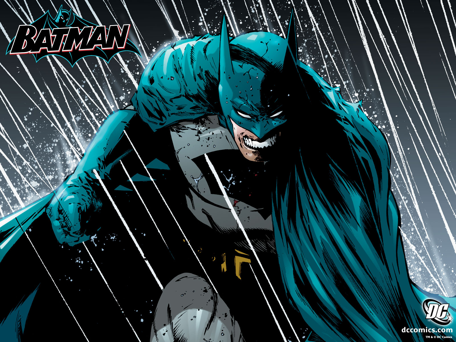 Batman In The Rain