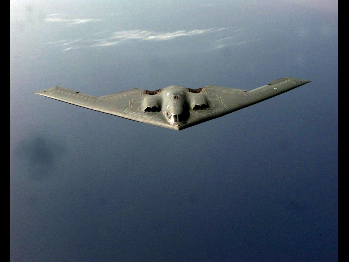 B2 Triangular Spy Plane
