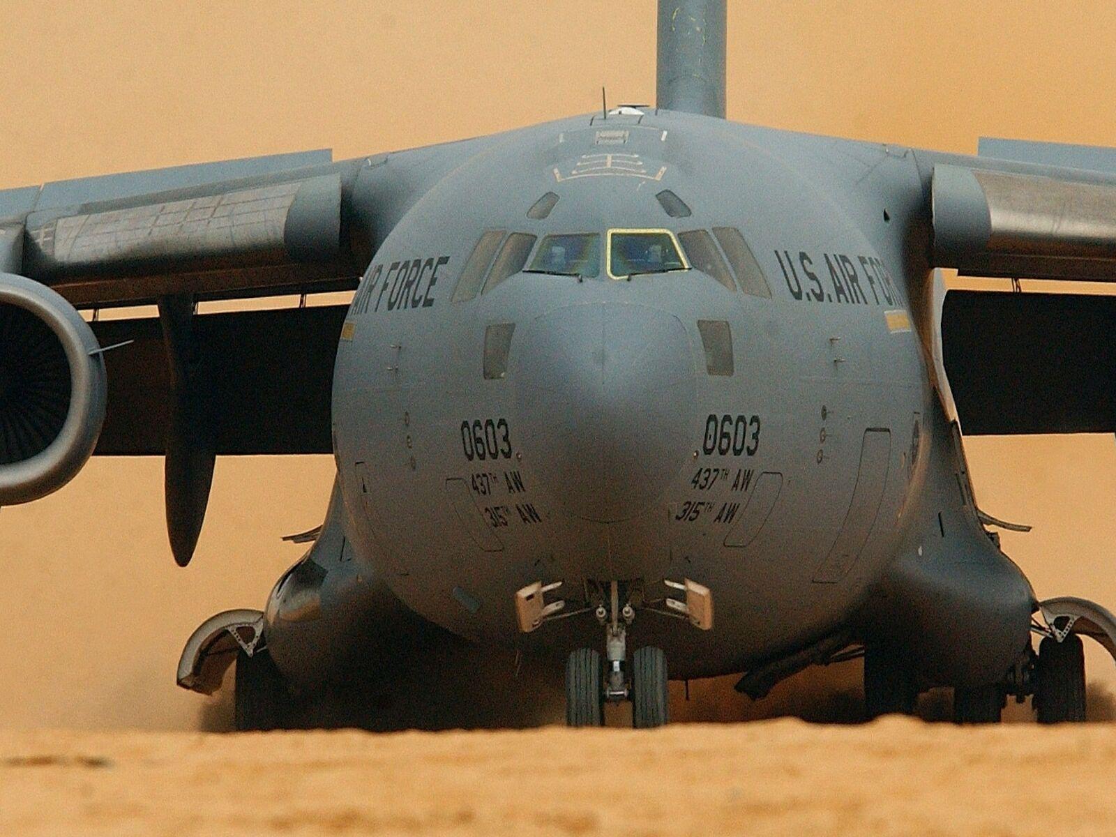 Dusty Takeoff