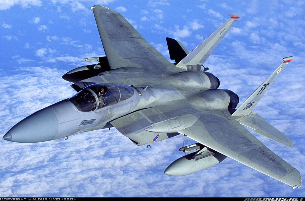 F 15 Close Up