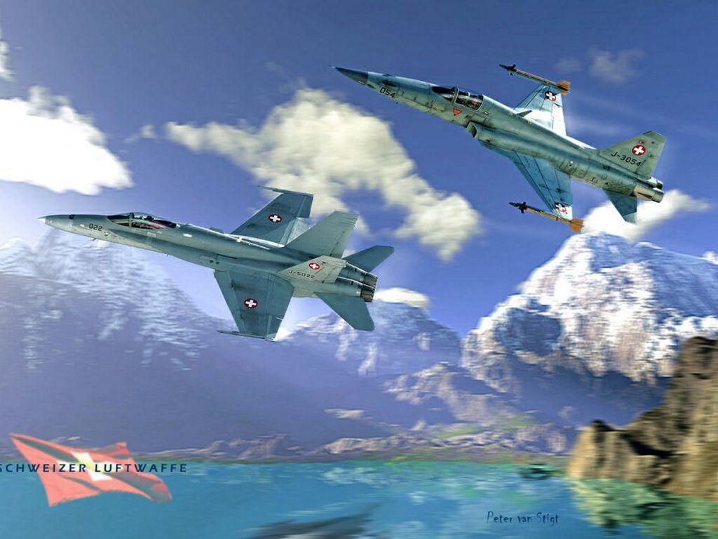 F 18 F 5 Swiss
