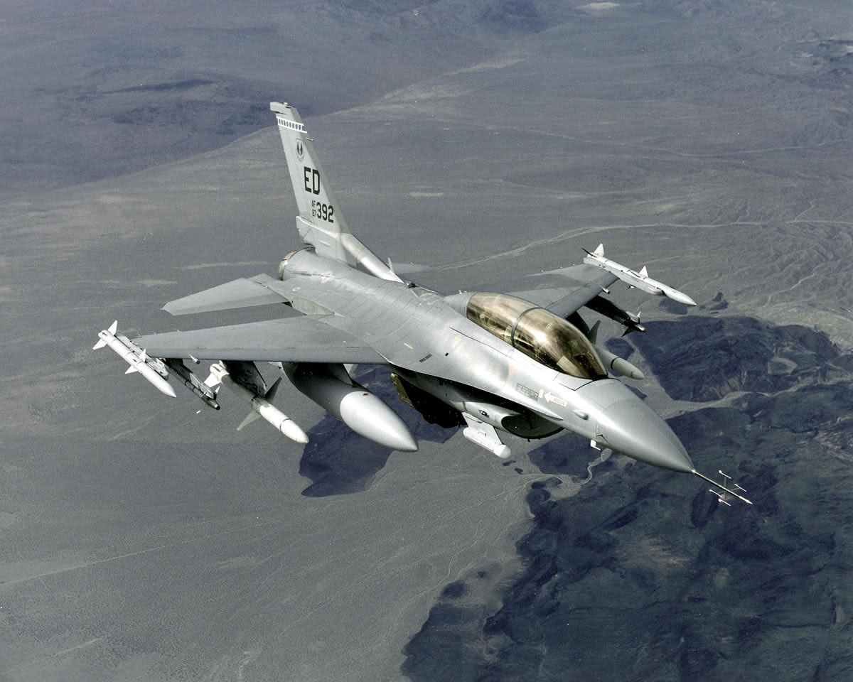 F16D Loaded Cant Top Blue Desert