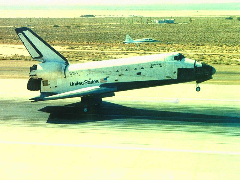 Fourth Shuttle Landing 1982