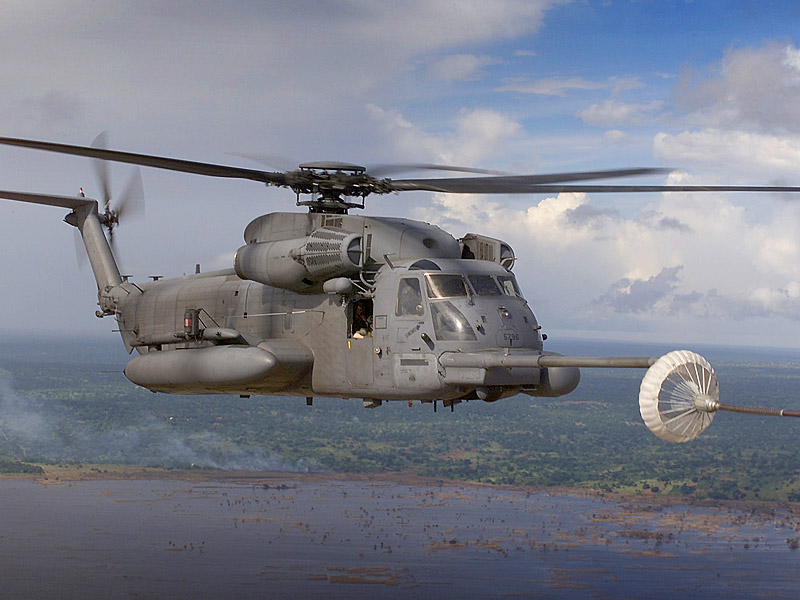 MH 53M Pave Low IV Refueling