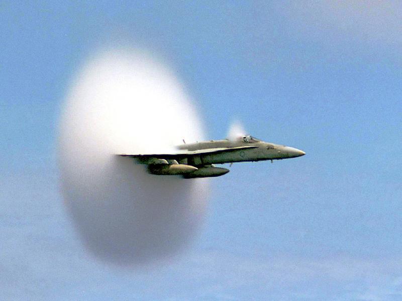 Military Sonic Boom