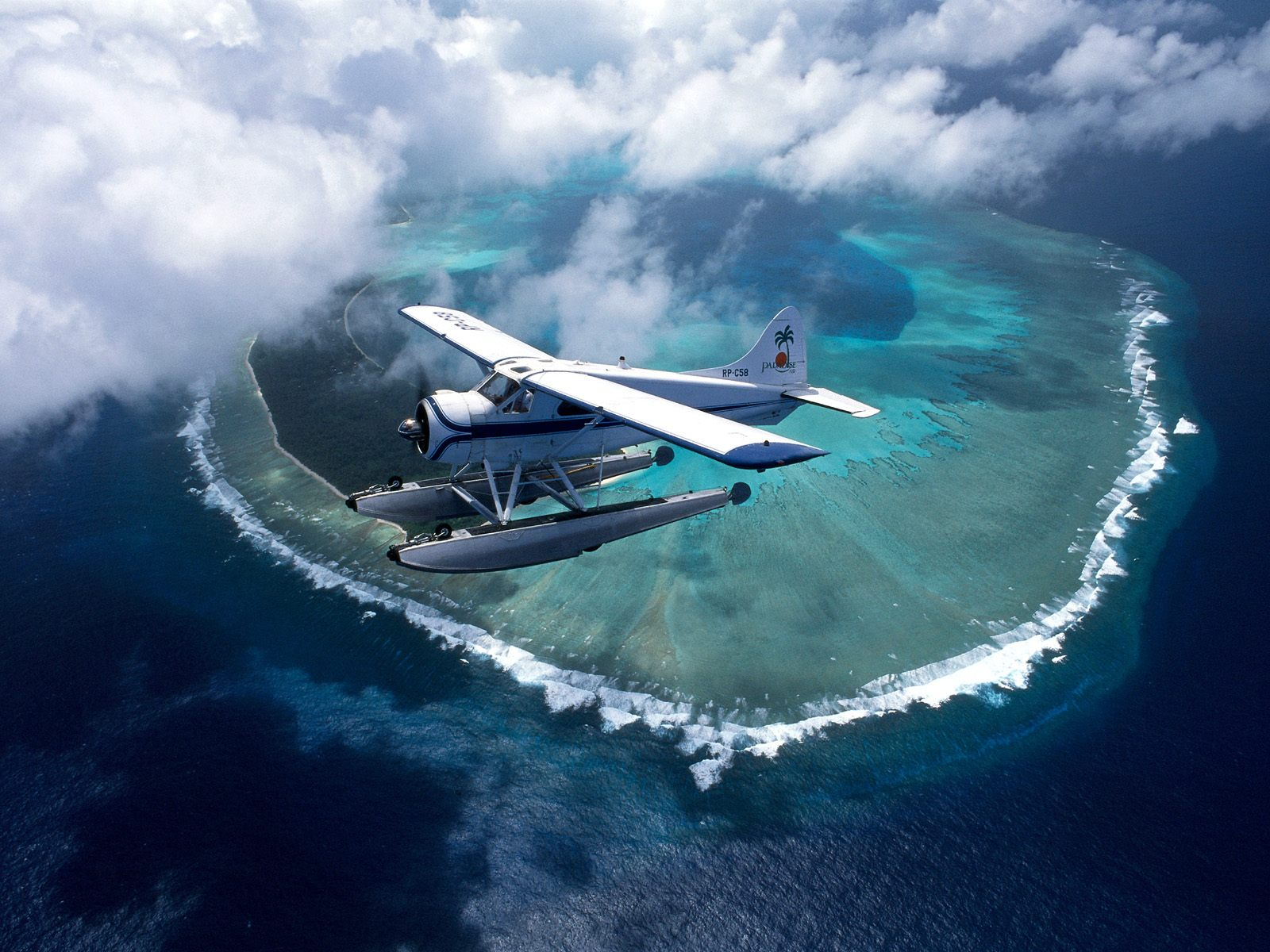 Over The Islands Of Palau