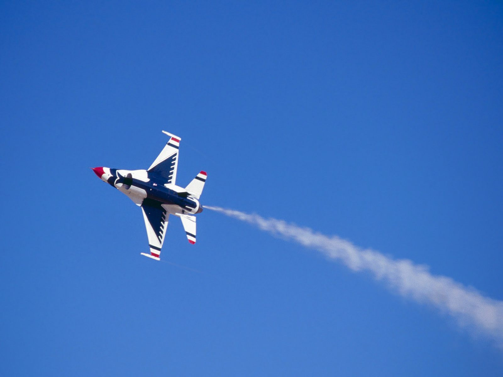 Twirling The Air Thunderbird