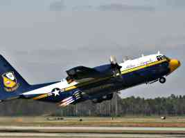 BlueAngels C130 Hercules Jato Takeoff