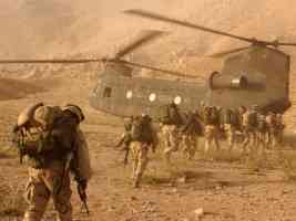 CH 47 Chinook Helicopter Daychopan Province Afghanistan